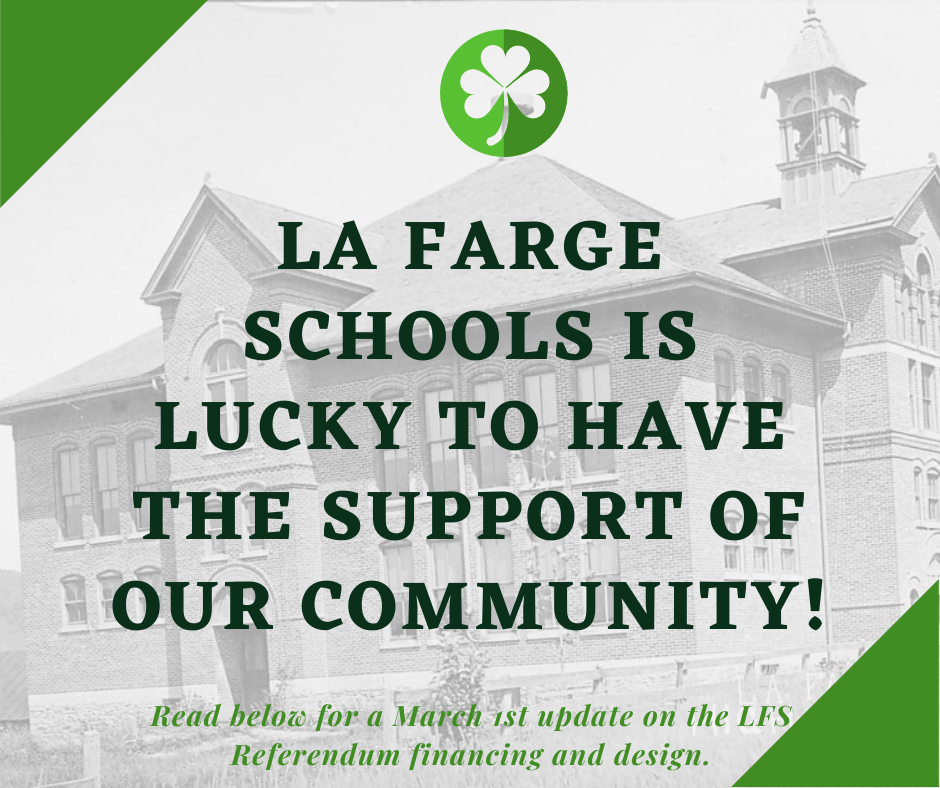 La Farge Schools March Referendum Update