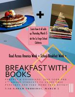 Breakfast with Books Event on Thursday,  March 5