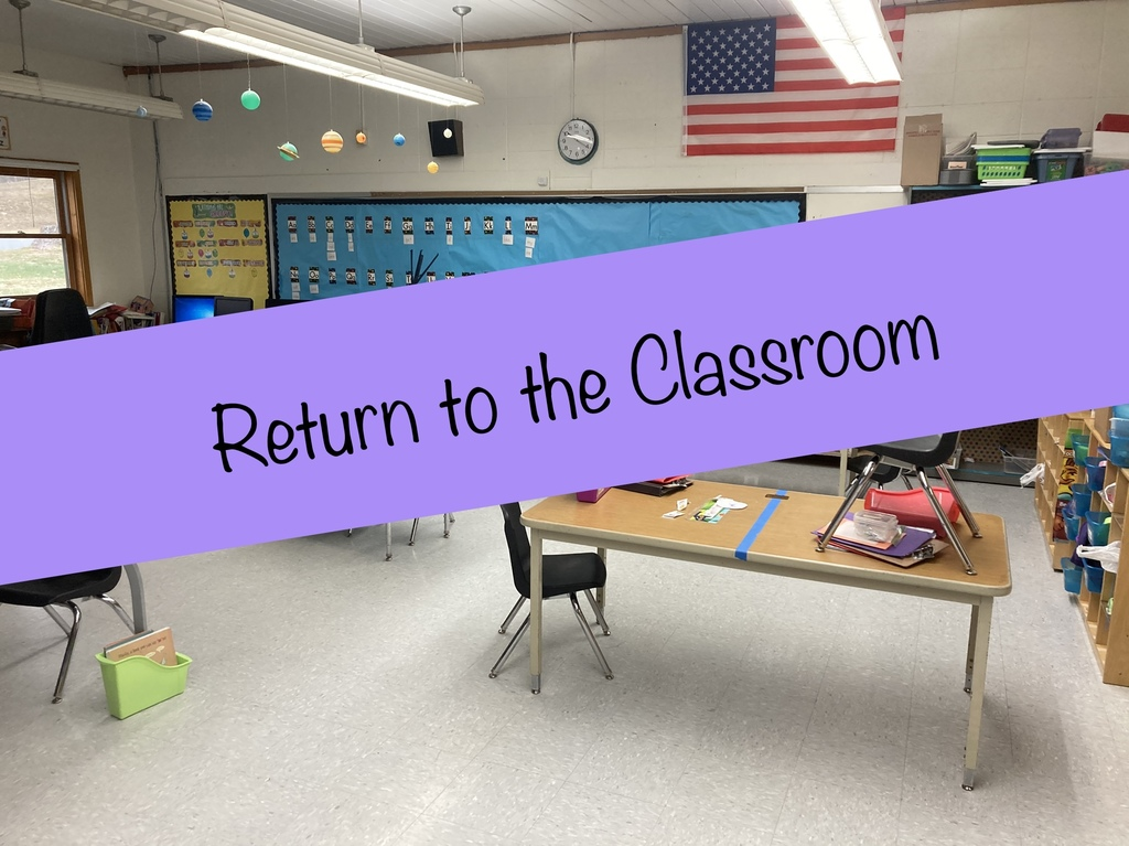 Return to the classroom