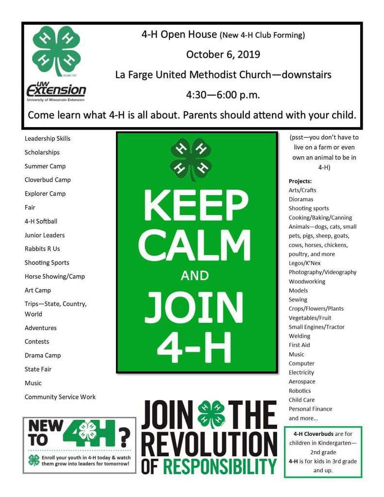 New 4H club forming
