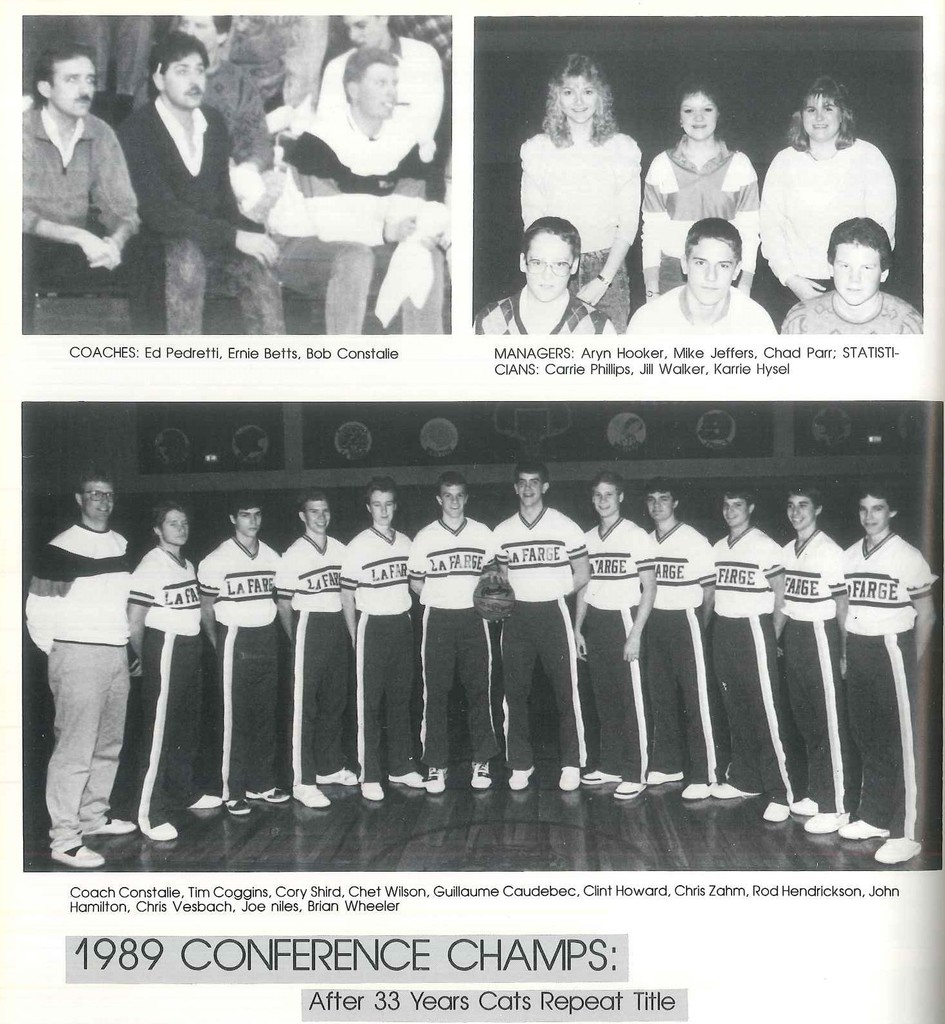 1989 Conference Champs